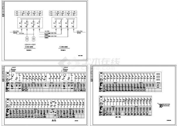 高低压配电系统接线图-图一