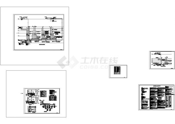 [广东]超高层商业大厦给排水施工图-图一