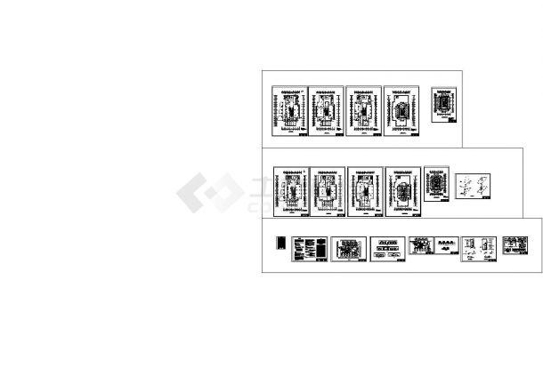 河北省办公楼暖通设计图纸毕业设计-图二