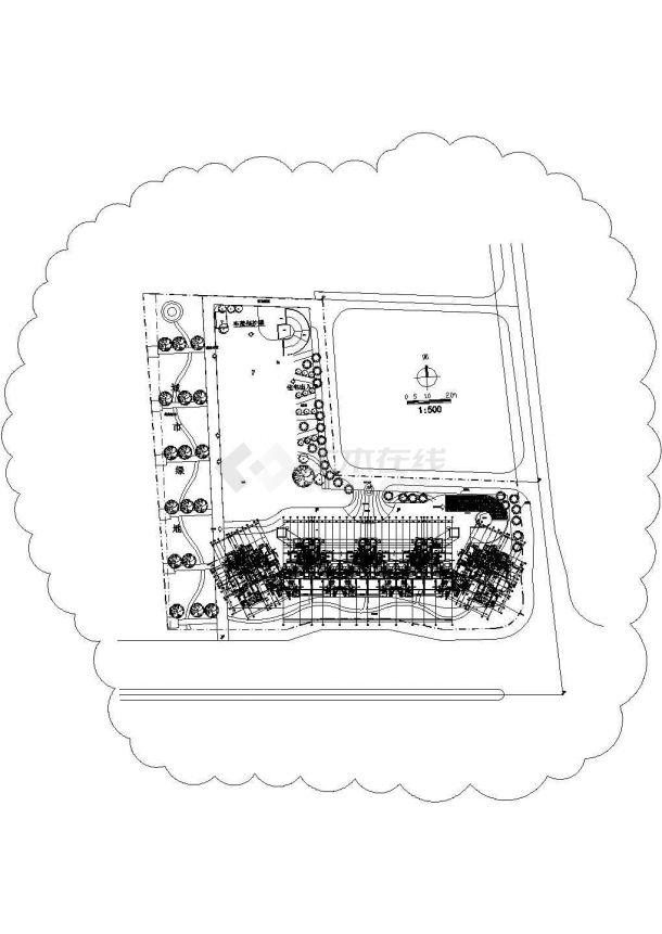 [广东]四十五层住宅楼给排水施工图纸-图一