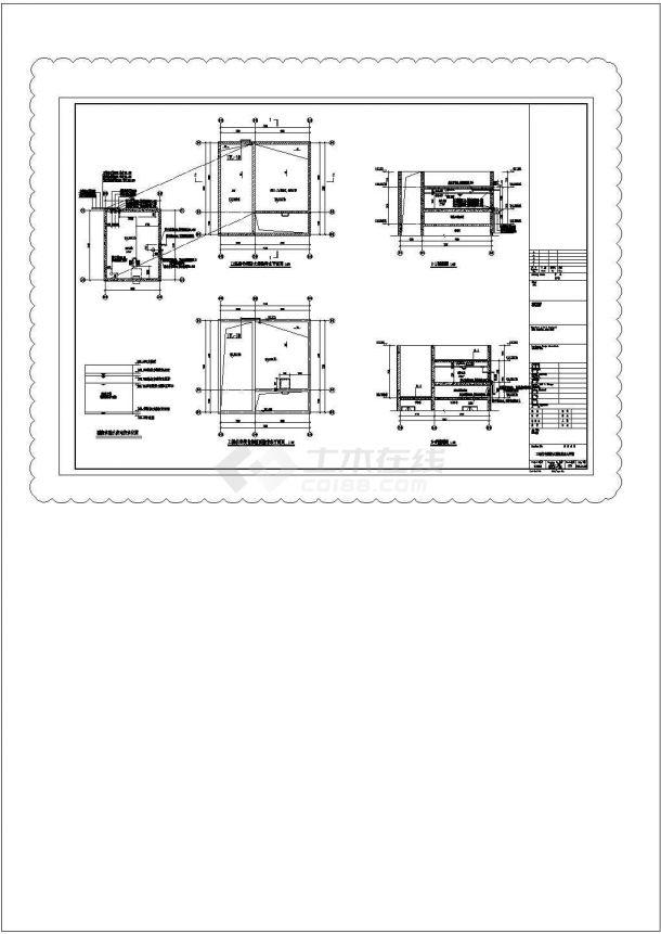 [广东]超高层住宅小区给排水施工图纸106张(7栋楼)-图一