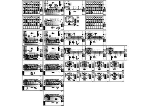 二十八层框剪结构商住楼结构施工图(含结构说明、含机械钻孔灌注桩设计说明)-图一