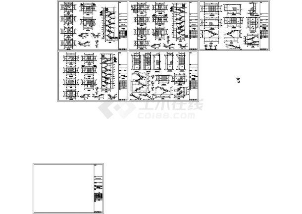 二十八层框剪结构商住楼结构施工图(含结构说明、含机械钻孔灌注桩设计说明)-图二