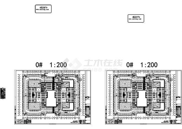 福建某69565.18㎡五层知名大学教学楼电气施工图纸(含计算书,设计说明)-图一