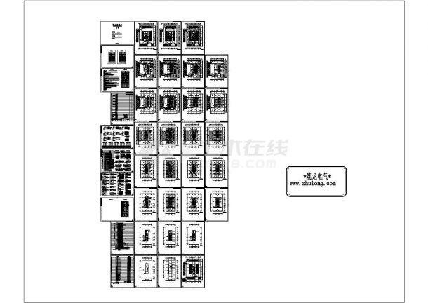 [施工图][河北]高层综合办公楼强弱电施工图37张-图一