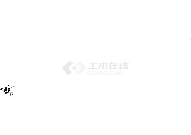 [吉安市]某科技馆与青少年中心建筑施工图(大型钢结构网架工程)-图一