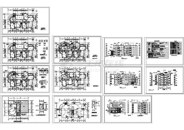 -1+4层2895.92平米幼儿园建筑施工图(建筑做法总说明)-图一