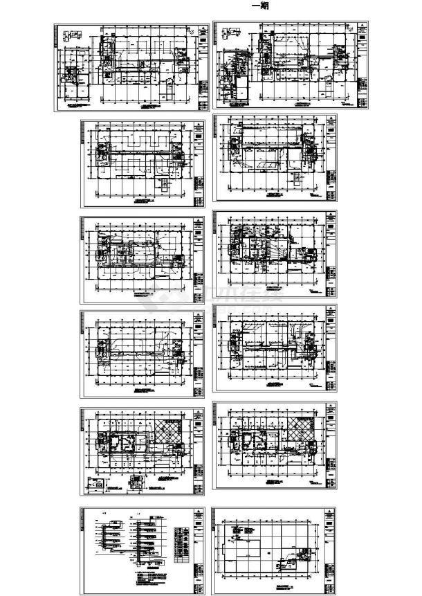 洁净厂房电气施工图-图二