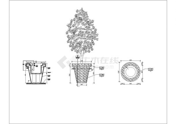 某大样CAD完整设计构造节点图合集-图二