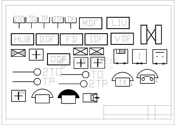 微电课堂 001-电气符号总集-图一