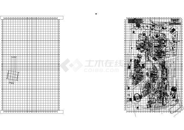 [山东]高层商业综合楼空调通风及防排烟系统设计施工图(含制冷机房设计)-图一