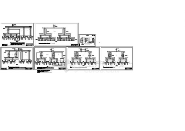 智能照明系统控制原理设计cad图,共四张-图二