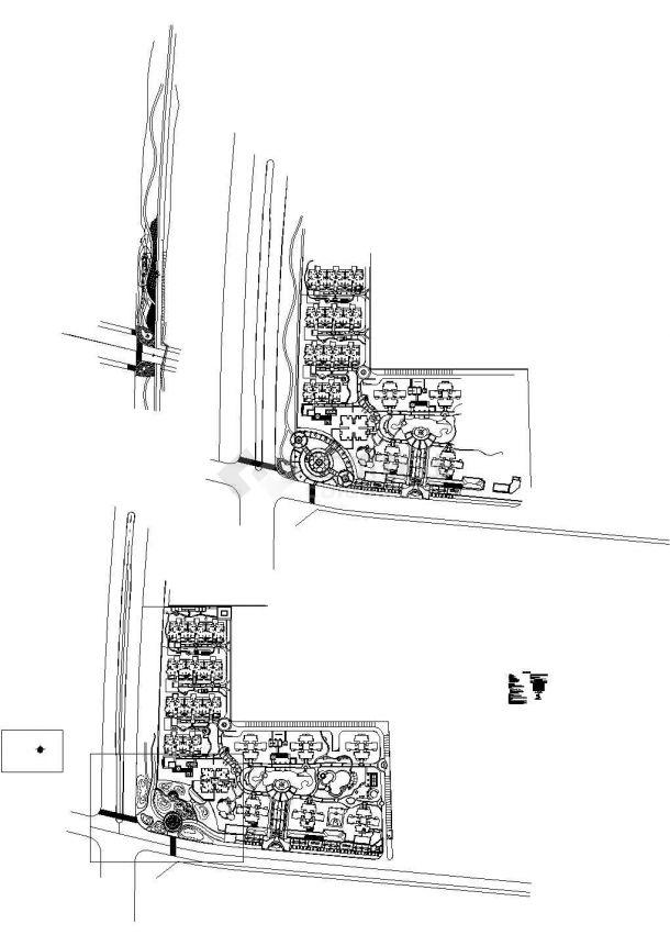 [重庆]住宅小区景观给排水施工图(含给排水设计说明)-图二