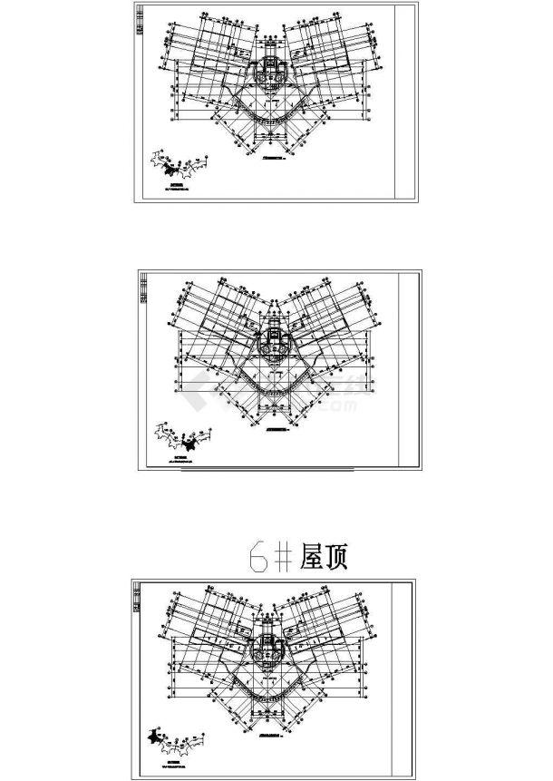 [广东]高层住宅建筑通风排烟系统设计施工图,6#楼-图一