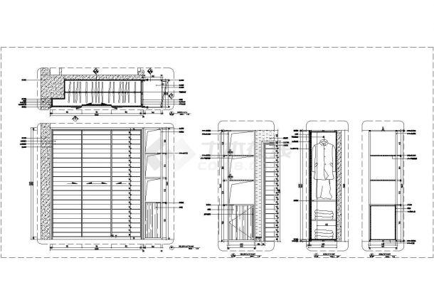 某全国通用节点CAD完整设计详图柜子合集-图一