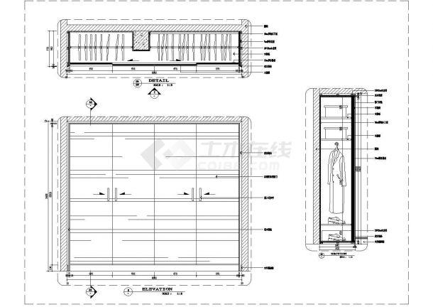 某全国通用节点CAD完整设计详图柜子合集-图二