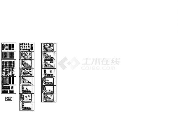 某18层高层商住楼电气图纸 ,含建筑电气设计说明-图二