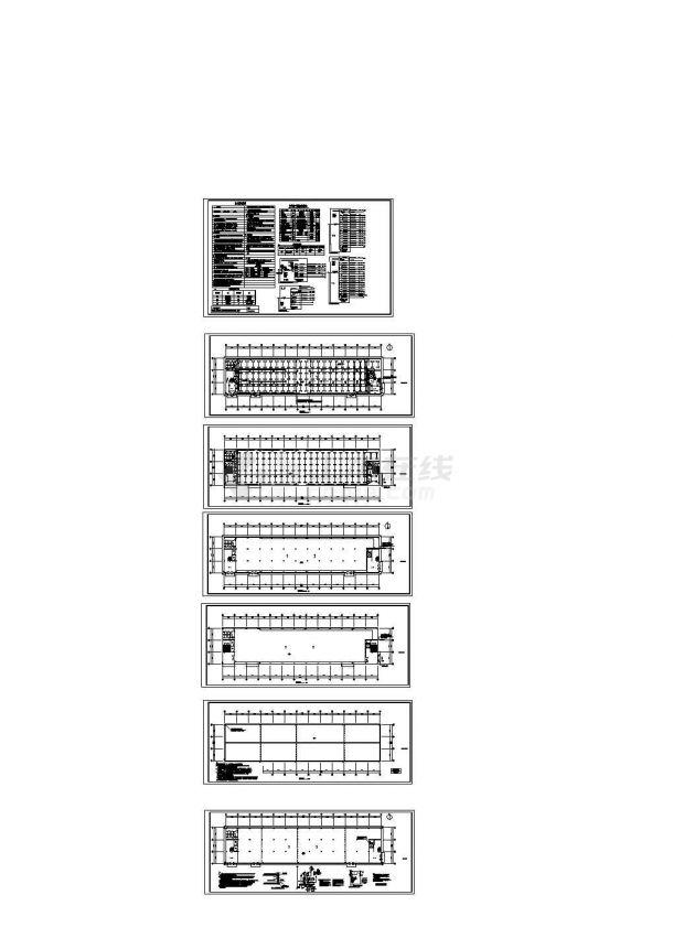 某地厂房电气照明及防雷接地系统设计施工图-图一