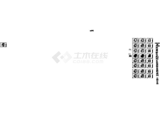 某外籍人事别墅室内装修设计cad全套施工图含效果图(甲级院设计)-图一