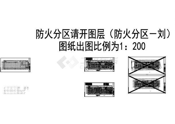 [上海]某商业办公综合楼给排水施工图(含消防、给排水平面及系统图纸等),标注明细-图一