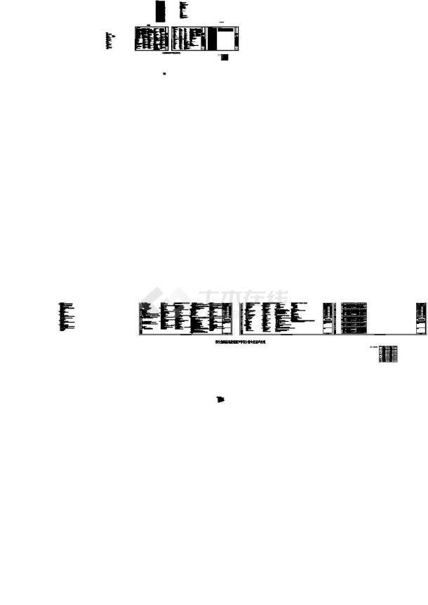 河南旅游中心建筑结构水暖电全套施工图(含强电、弱电系统图)-图二