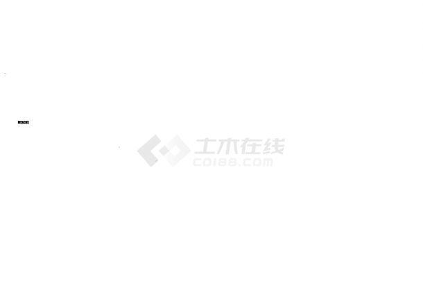 西安商业综合楼裙房给排水施工图-图一
