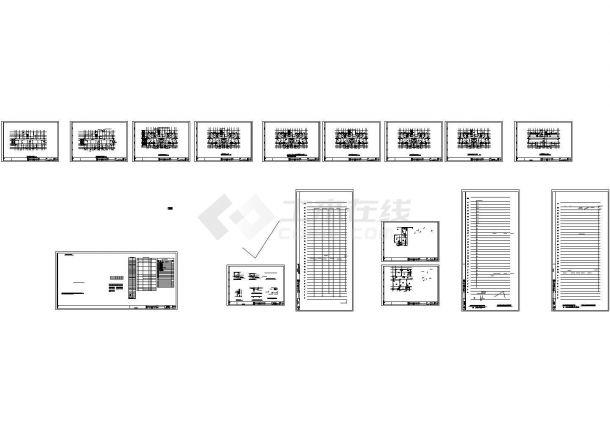 [安徽]三十三层住宅楼给排水施工图纸.共十六张-图一