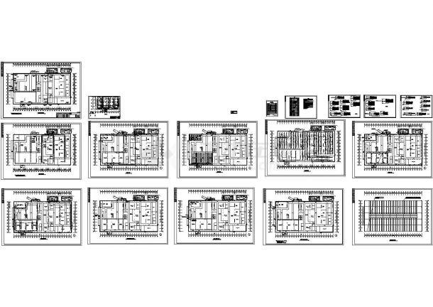 某集团项目厂房电气施工图-图一