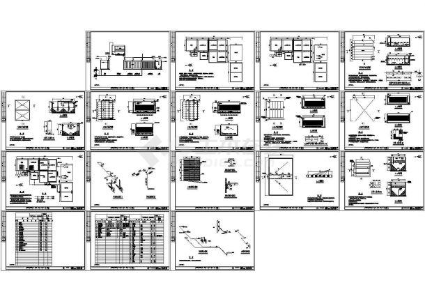 某矿业废水工艺施工图(含设计说明)-图一