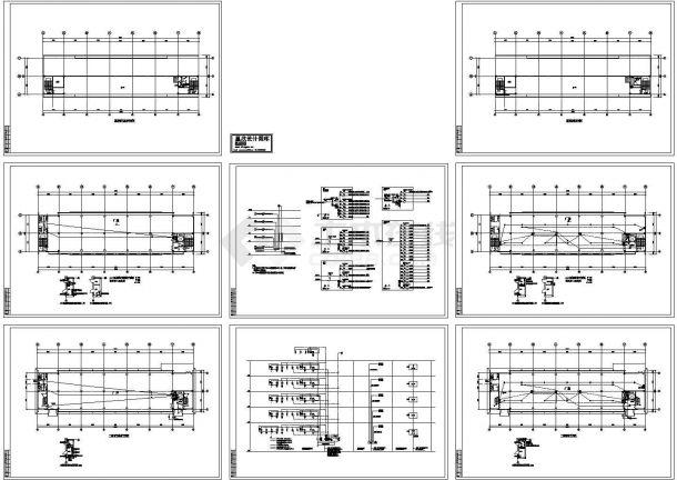 工业厂房电气设计全套图纸(标注详细)-图一