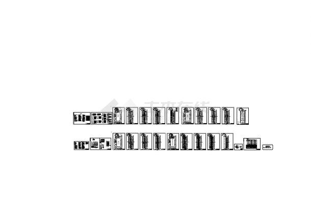[武汉]某23万㎡地上六层酒店建筑电气图纸(含电气设计说明)-图一