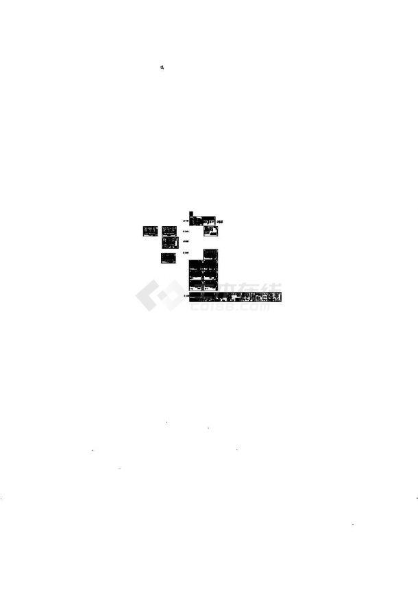 20层框支剪力墙结构商住楼结构施工图-图二