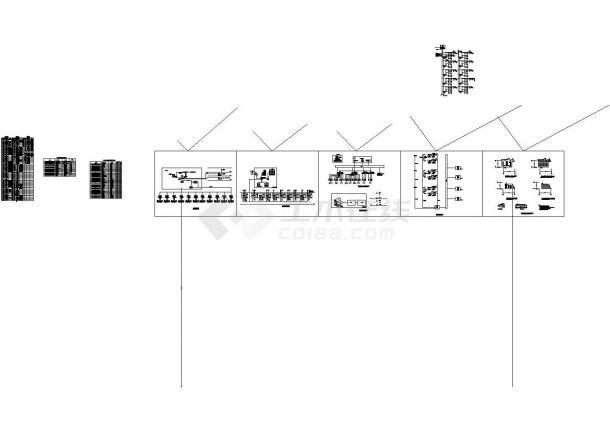 [江苏]大型购物中心二次深化智能弱电系统图纸(含车库智能系统、安防系统)-图二