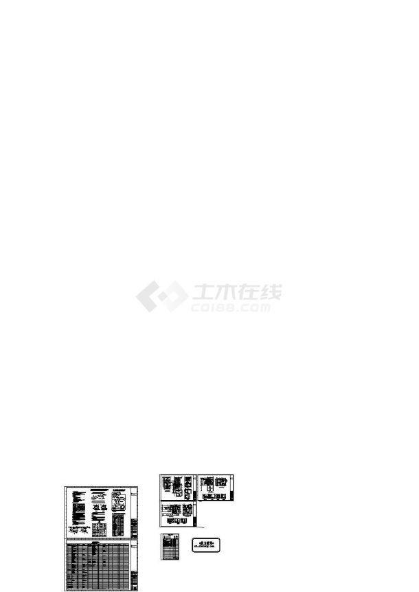 [唐山]商业综合楼暖通空调设计全套施工图纸(含人防)-图一