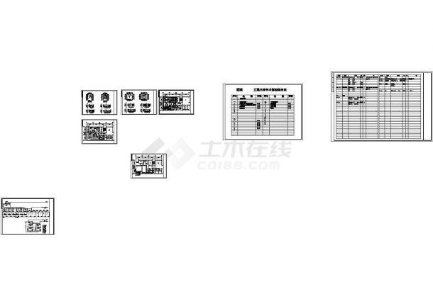 [山东]医院洁净手术部空调系统改造工程(CAD,8张图纸)-图一
