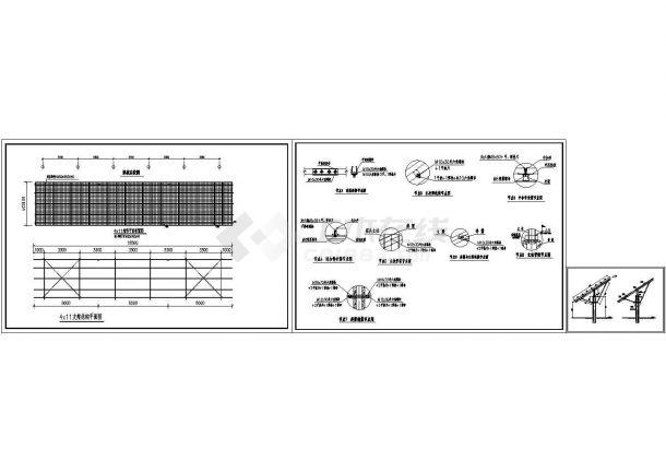 预应力混凝土管桩光伏支架设计图-图一