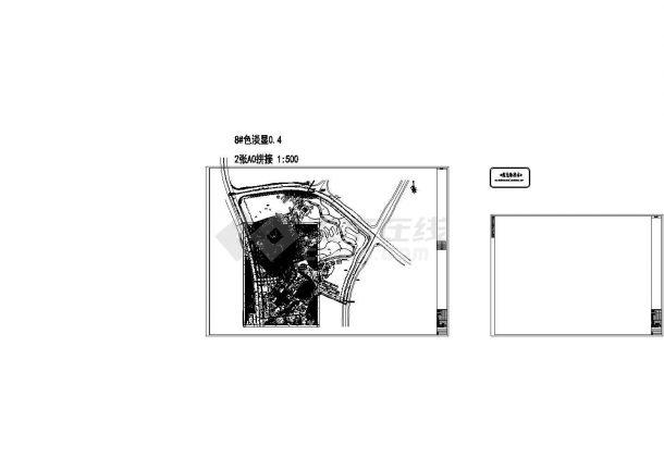 重庆某七层儿童医院综合楼给排水施工cad图纸-图二