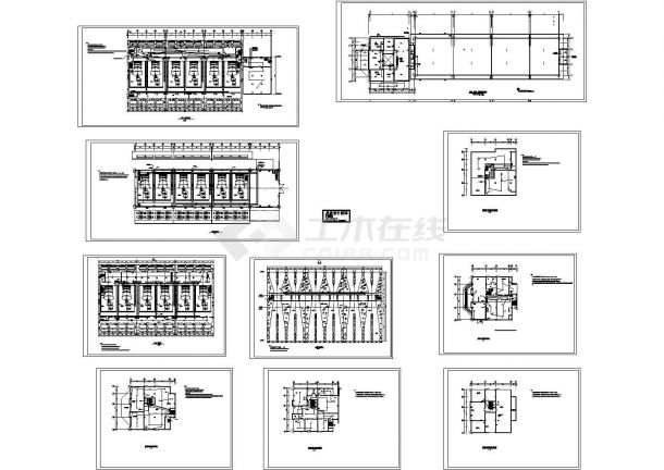 某高层大楼火灾报警系统设计CAD施工图-图一