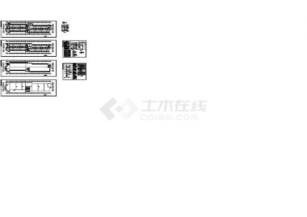 学生公寓详细设计CAD强电图及系统图-图一