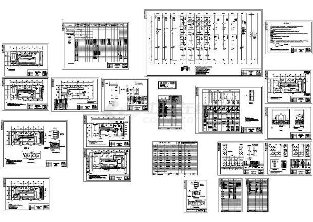 10KV变电所设计施工图纸-图一