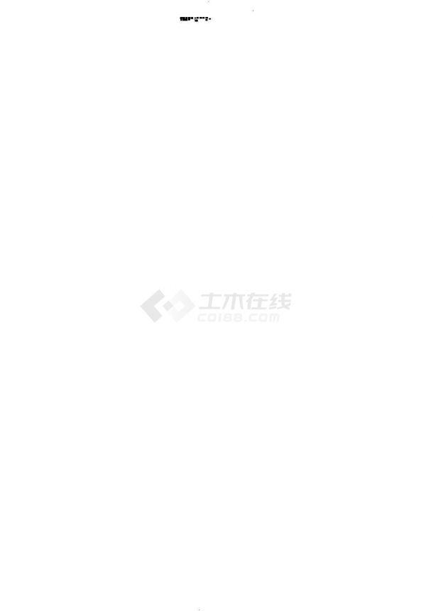 上海城市给水工程优秀设计施工cad图纸,共十七张-图一
