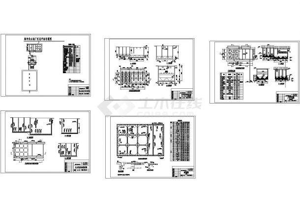 【上海】某供水工程设计施工CAD图纸-图二