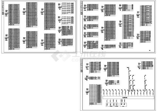 厂房动力照明及配电系统图-图二