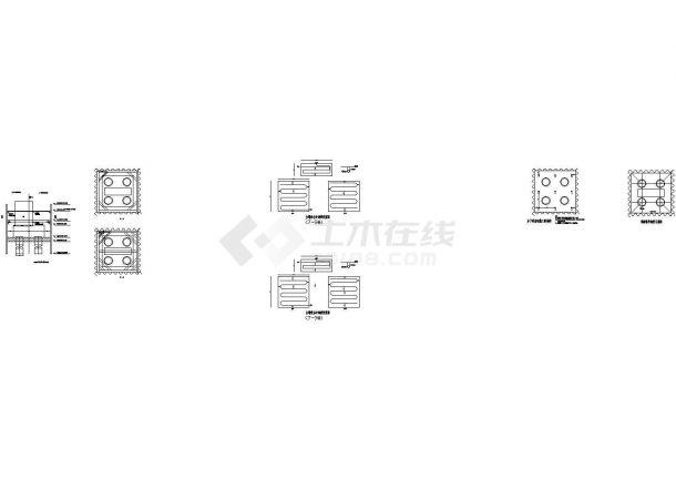 桥梁钢板桩围堰专项施工方案(含CAD图)-图二