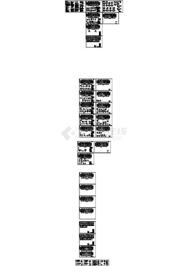 18层剪力墙结构住宅结构施工图(CAD、32张)-图一