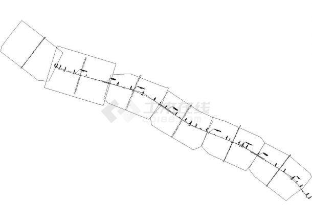 全长为3.36公里双向四车道路基宽度为26m公路Ⅰ级(计算书、CAD图、施工组织设计)-图二