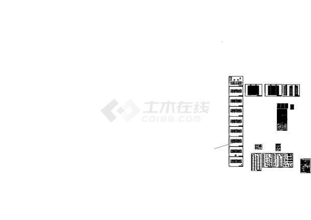 [广东]18层剪力墙结构住宅楼建筑结构cad设计施工图-图一