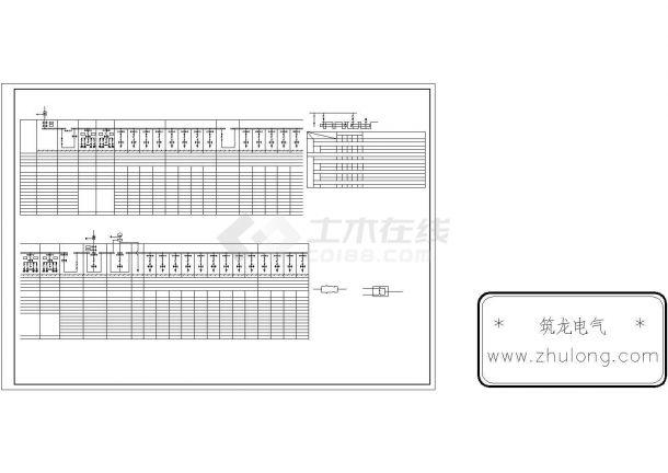 二市电一发电低压配电系统图-图二