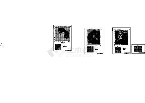 山东某县环岛公园景观设计施工图纸-图二