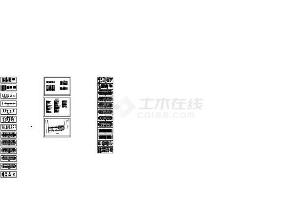 [海南]多层住宅楼给排水施工图(雨水收集)-图一